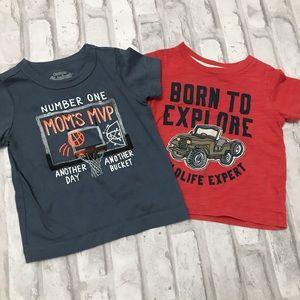 7 Baby Boy Shirts